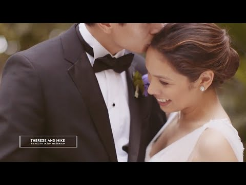 Therese and Mike: A Wedding in San Jose Church
