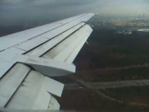 Lufthansa Boeing 737-500  Aberdeen-Frankfurt