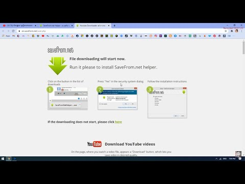 How To  Download and install SaveFrom.net Helper for Google Chrome 2021