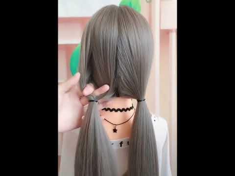 Hair style | ทรงผมน่ารัก ๆ ทำเองได้ง่ายมาก ๆ