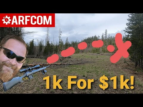 I built a 1K yard rifle for under $1K. Here's How!