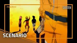 Naruto Ending 15 Full - Scenario (Saboten) ||| Lyrics