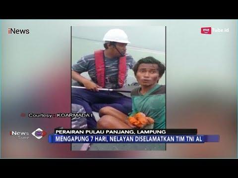 7 Hari Terombang-ambing di Selat Sunda, Nelayan Korban Tsunami Berhasil Selamat - iNews Sore 31/12