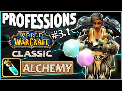 Classic Vanilla WoW Professions Overview/Guide: Alchemy