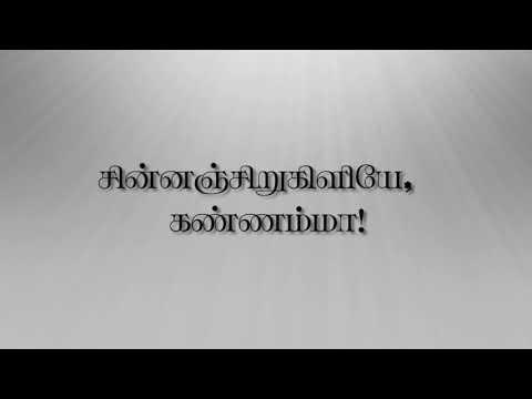 Bharathiyar song (KANNAMMA)