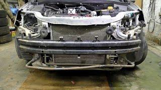 Как снять передний бампер на Chevrolet Aveo Т-250 .