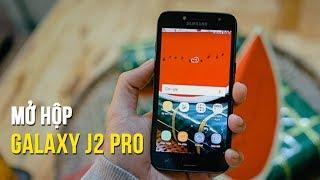 """Mở hộp & Trên tay nhanh Samsung Galaxy J2 Pro 2018: Giá rẻ liệu có """"ngon""""?"""