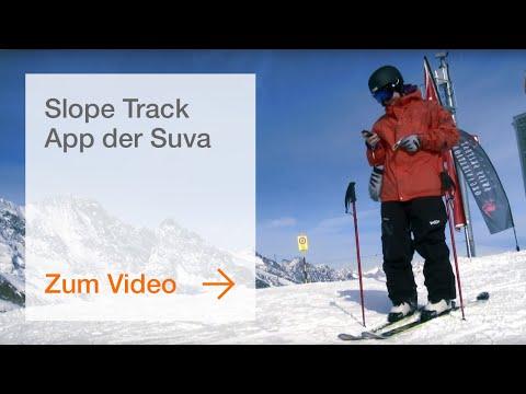 Slope Track App der Suva
