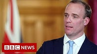 Coronavirus Raab leads governments daily virus briefing - BBC News
