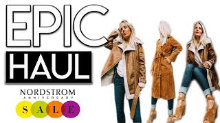 EPIC Nordstrom Sale HAUL and TRY ON!
