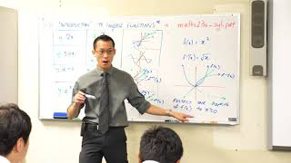 Intro to Inverse Functions (3 of 4: Restricted domains)