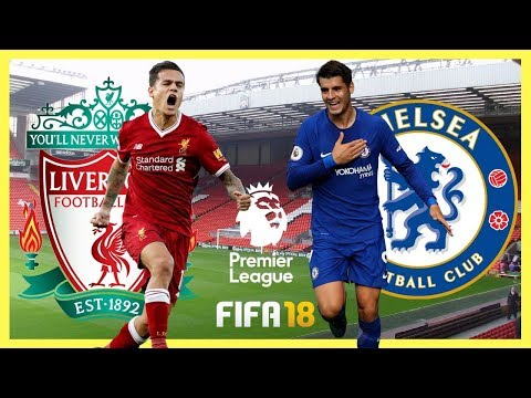 Liverpool vs Chelsea - Premier League 2017/18 - Anfield - FIFA 18 Gameplay