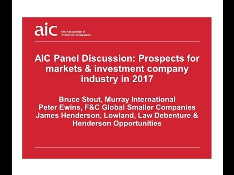 What are the prospects for markets and the investment company industry in 2017?