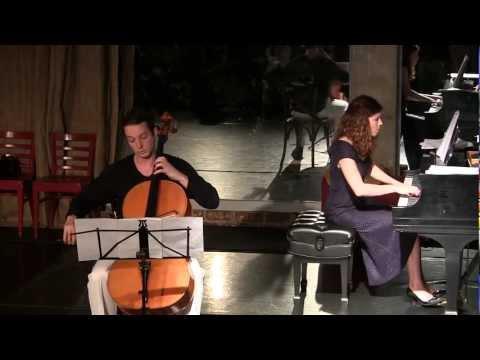 Evgeny Tonkha & Anna Drubich - Yakob's Stairs (Bronner) 2013-03-23 Theatre Jazzo, MiMoDa Studio, LA