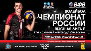Высшая лига Б. АСК - Динамо-ВятГУ