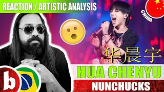 HUA CHENYU 华晨宇! Nunchucks - Reaction Reação & Artistic Analysis (SUBS)