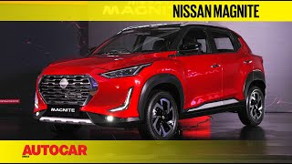 Nissan Magnite revealed - The compact SUV with big ambitions | First Look | Autocar India