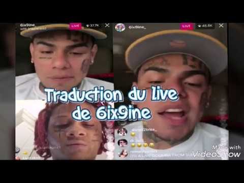 TRADUCTION DU LIVE DE 6IX9INE AVEC TRIPPIE REDD