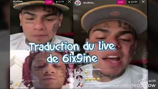 TRADUCTION DU LIVE DE 6IX9INE AVEC TRIPPIE REDD