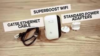 #SuperBoost #WiFi Setup Tutorial - EN
