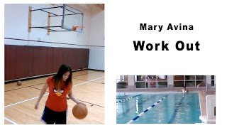 Mary Avina Work Out!