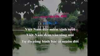 Karaoke: Việt Nam! Việt Nam! - Phạm Duy (Hợp Ca)