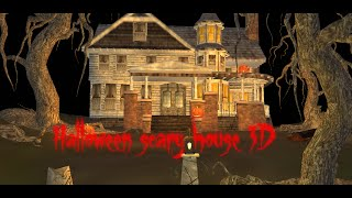 Halloween Scary House 3D - Android Live Wallpaper