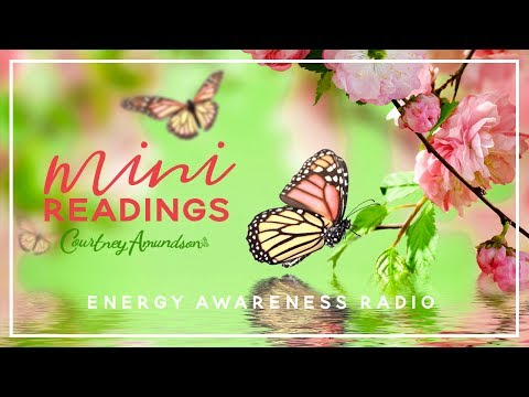 Courtney Takes Live Callers for Mini Readings on Energy Awareness Radio with T Love