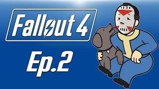 Delirious plays Fallout 4! Ep. 2 (Heading to Concord) Doggylirious!