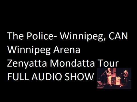 "The Police- Winnipeg, CAN, ""Winnipeg Arena"" 10-21-1980 (FULL SHOW)"