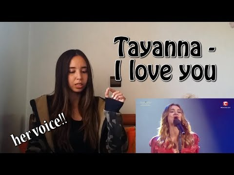 Tayanna - I LOVE YOU - Eurovision ( Ukraine ) _ REACTION