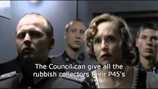 Hitler told about wheelie bin revolt in Chiswick