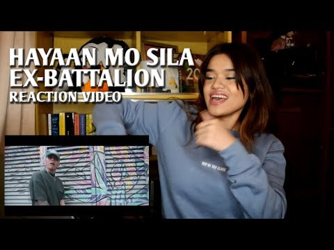 HAYAAN MO SILA By Ex Battalion | REACTION VIDEO!!!
