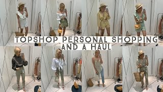 TOPSHOP PERSONAL SHOPPING & A HAUL  | Ruby Holley