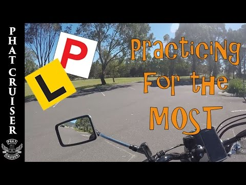 Practicing For The MOST - Motovlog