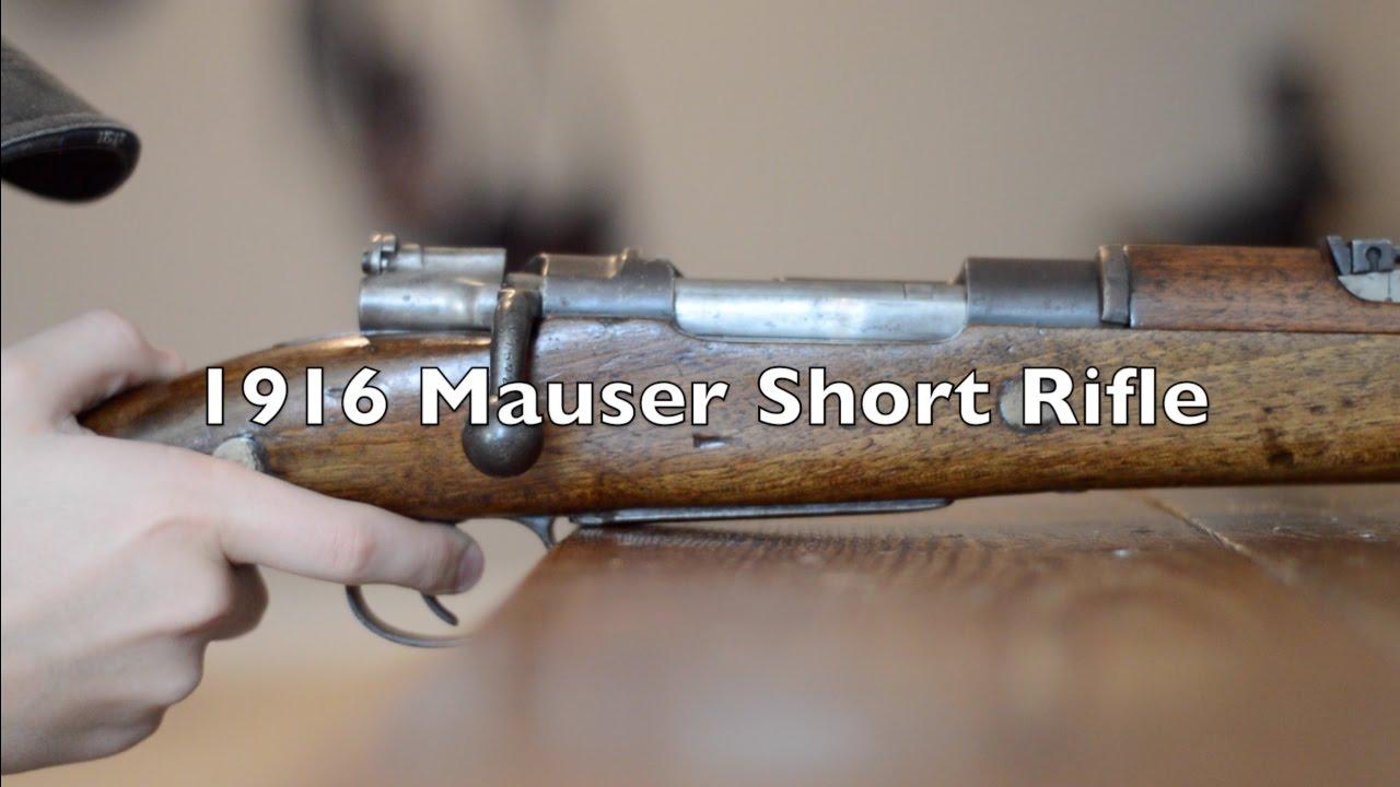Spanish Mauser 1916