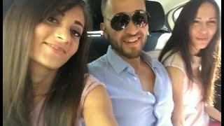 Behind the scenes in Barcelona: Shalina Devine, Antonio Suleiman, Lilu Moon (tbt)