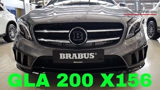 NEW Grey GLA 200 with BRABUS Equipment X156 | Galeri Kereta