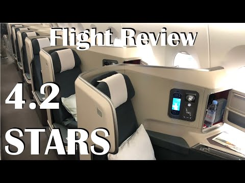 Flight Review HKG-IAD Cathay Pacific Business Class A350-1000 -- 4.2 STARS FLIGHT