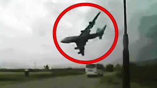 5 PLANE CRASHES Caught on CAMERA