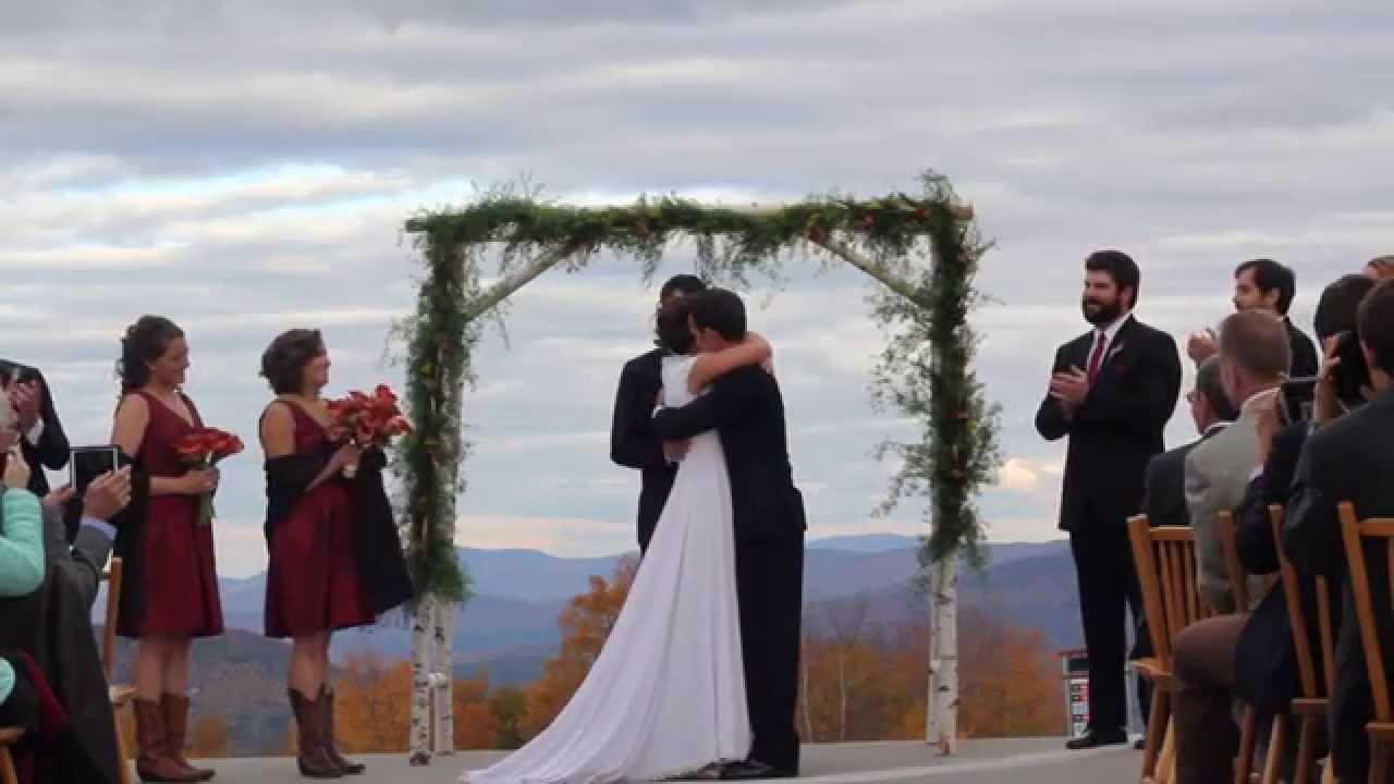 Cie And Mark S Sunday River Wedding