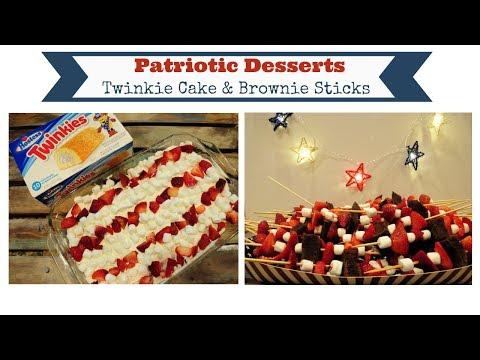 DIY 4th Of July Snacks & Treats: Patriotic Desserts