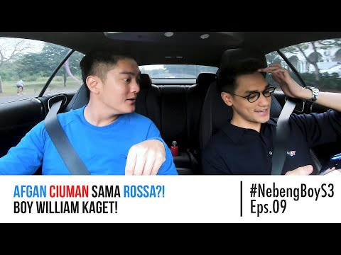 Afgan CIUMAN sama Rossa?! Boy William Kaget! - #NebengBoyS3 Eps. 9