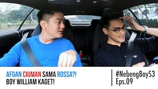 Afgan CIUMAN sama Rossa?! Boy William Kaget! - #NebengBoyS3 Eps. 9 MP3