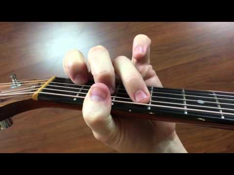 Video How To Play A Cmaj7 Open Guitar Chord