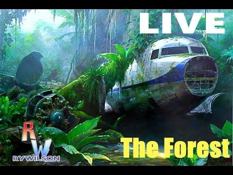 LIVE:  The Forest (The Plane Crash Survivor)