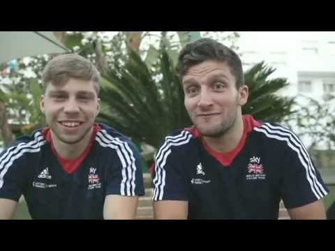 FUNNIEST TEAM GB TRACK CYCLING SQUAD MOMENTS