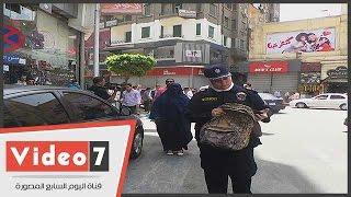 شرطة العنف ضد المرأة تقبض على فتاتين بمنطقة وسط البلد للاشتباه فيهما