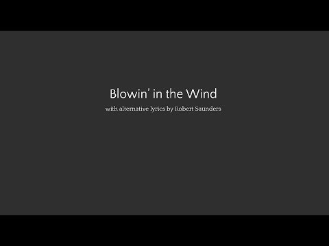 A song for ME: Blowin' in the Wind