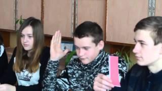 фрагмент урока русского языка 9 класс